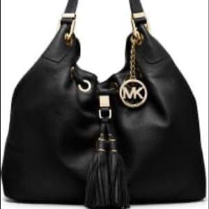 Black Michael Kors Slouch Bag